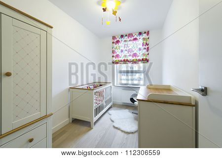 Stylish Room For Baby