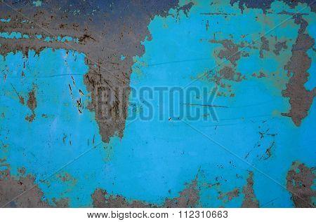 Texture of rusty iron sheet