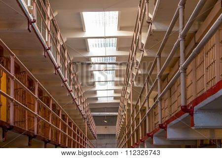Inside Of Alcatraz