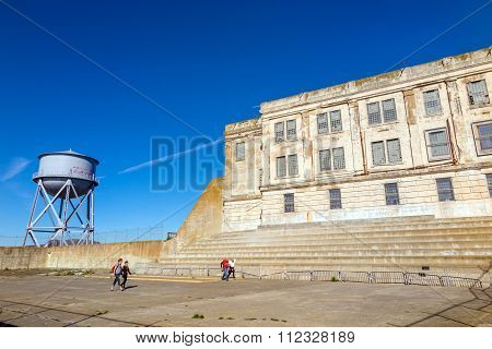 Alcatraz, San Francisco, California - Usa