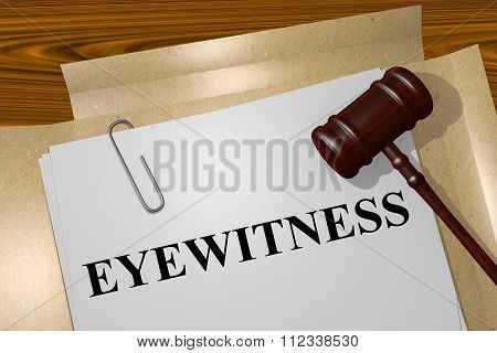 Eyewitness Concept