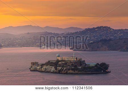 Alcatraz Island In San Francisco