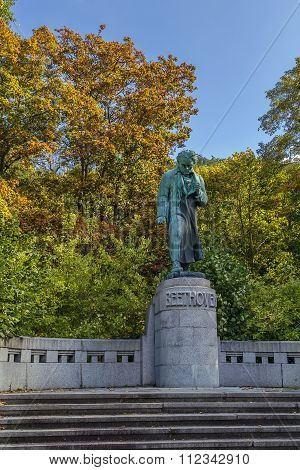 Monument To Beethoven, Karlovy Vary