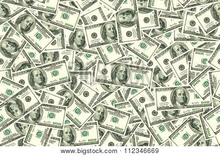 Abstract Seamless Pattern Background. Background Of Dollars