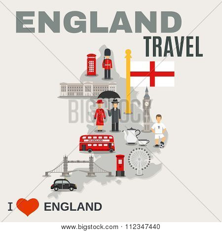 England Culture For Travelers Poster