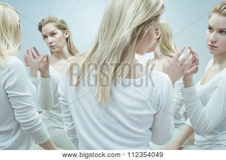 Woman In Psychiatric Hospital