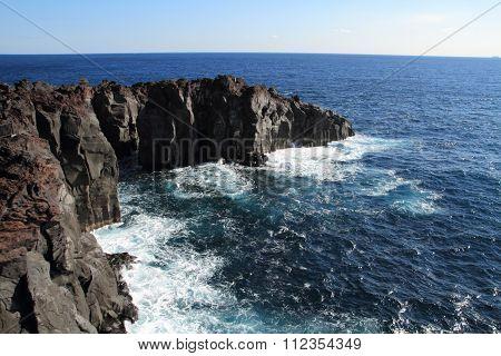 Jogasaki coast in Izu peninsula, Shizuoka, Japan