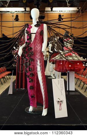 Salon Du Chocolat 2015, Chocolate Dress