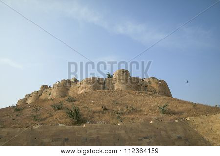 Jaisalmer, India-november 26, 2016:different Parts Of Golden Fort Of Jaisalmer, Rajasthan India.