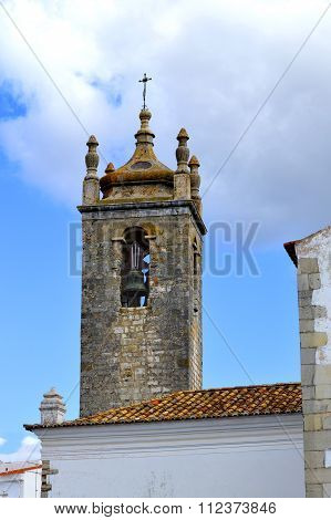 Loule historical Igreja Matriz de Loule ou Igreja de Sao Clemente church bell tower