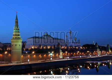 Moscow Kremlin (With Moscow-River, And It'S Embankment)