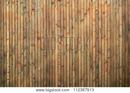 Blind Close Boarded Fence