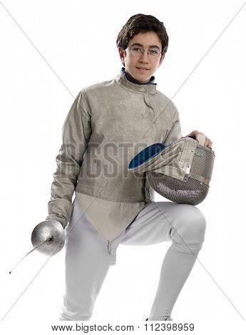 Teen Fencer