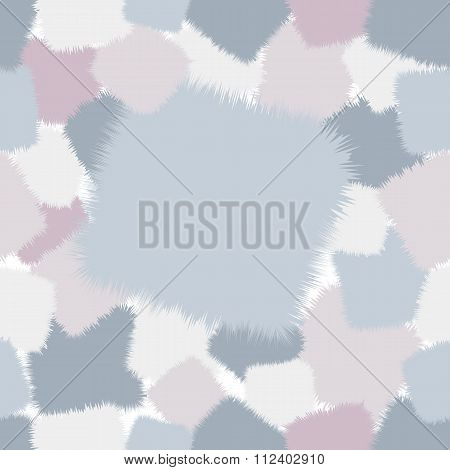 trendy shaggy seamless pattern patchwork in pink and blue tones