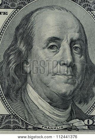 Franklin On 100 Dollars