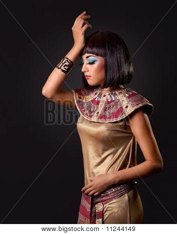 Portrait Of A Beautiful Egyptian Woman