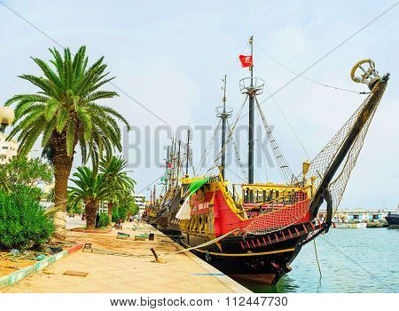 The Medieval  Flotilla Of Sousse
