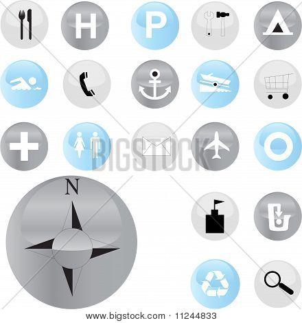 symbols set - vector