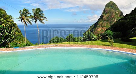 Swimming Pool Over Piton
