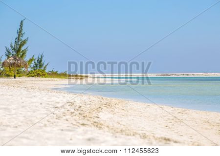 Paraiso beach in Cayo Largo island