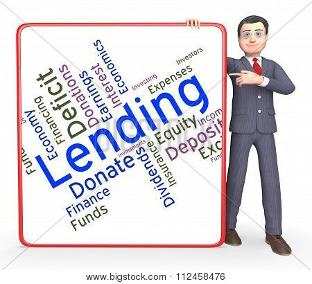 Lending Word Means Loan Lends And Borrows