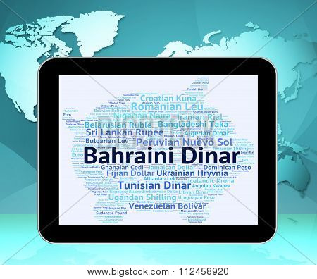 Bahraini Dinar Means Exchange Rate And Coin