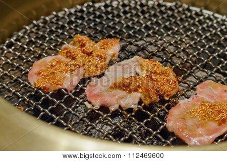 Yakiniku Fresh Pork Sliced With Sauce Til