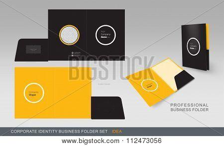 Corporate Identity Business Folder-concept 04