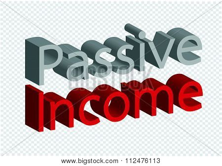 an images of passive income recurring incomes concept idea