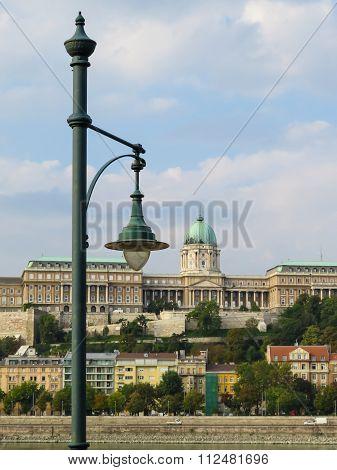 View of the Royal Palace (Budavari Palota), Budapest, Hungary