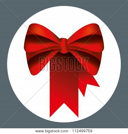 red ribbons and bows