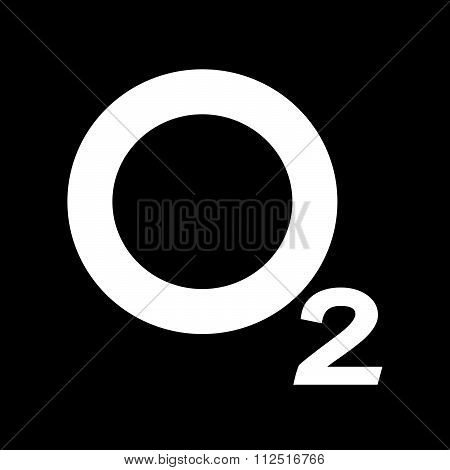 an images of illustration vector Oxygen O2 Icon