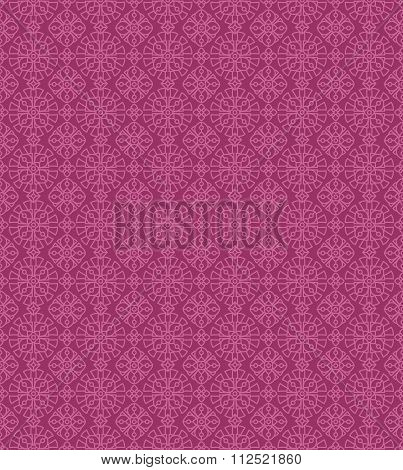 Seamless vintage two-color pattern