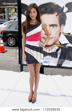 Kelsey Chow at the Los Angeles Premiere of