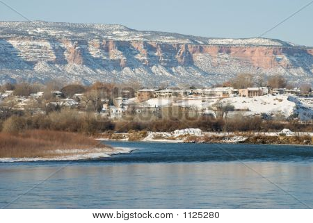 Colorado River In Wnter