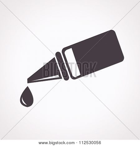 Ear Or Eye Drop Icon