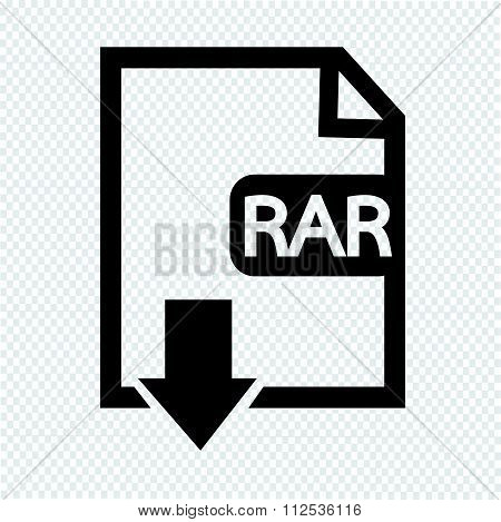 an images of File type RAR icon