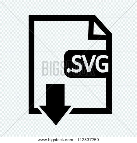 Image File Type Format Svg Icon