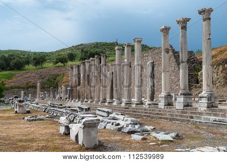 Archaeological site in Turkey