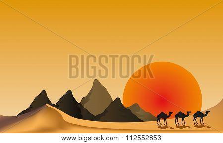 vector desert