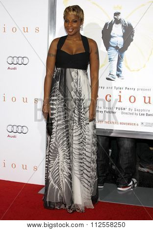 Mary J. Blige at the AFI FEST 2009 Screening of