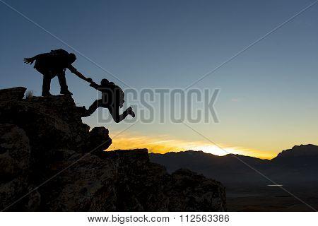 ambitious climb