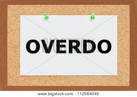 Overdo Concept