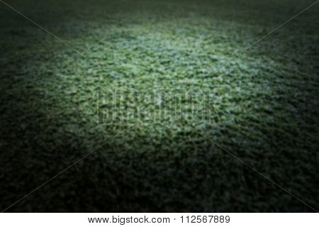 Blur Of The Green Artificial Grass Texture