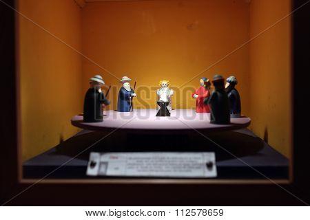 Asian Nativity Scene