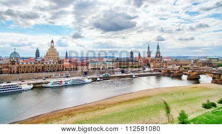 Histoirical Center Of The Dresden Old Town,  Zwinger, Theatre Square (theaterplatz)katholische Hofki