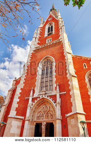 Vienna, Austria-september 10, 2015 :catholic Church Of St. Peter( Katholische Kirche St. Peter),vien