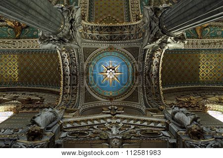 Cupolas Of The Basilica Of Fourviere
