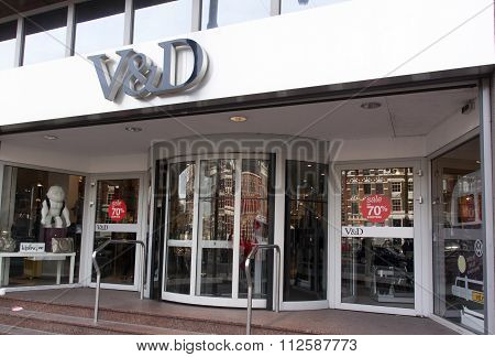 V And D Is A Dutch Retail Store,