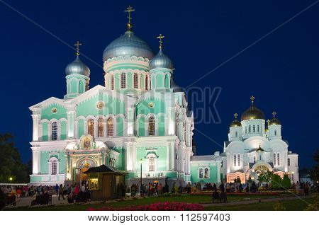 Holy Trinity Seraphim-diveevo Convent, Village Of Diveevo, Russia